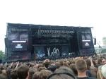 Korn Stage auf dem Sonisphere in Prag