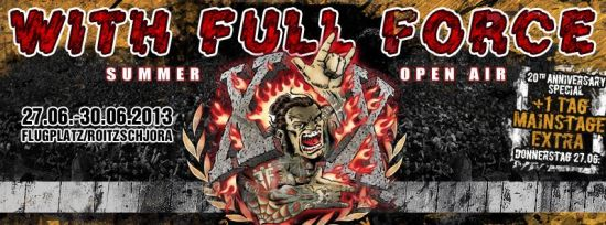 With Full Force 2013 header