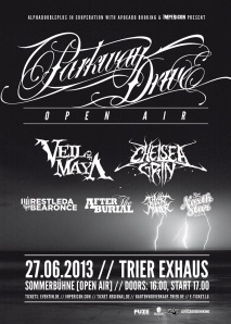 Parkway Drive Open Air Trier