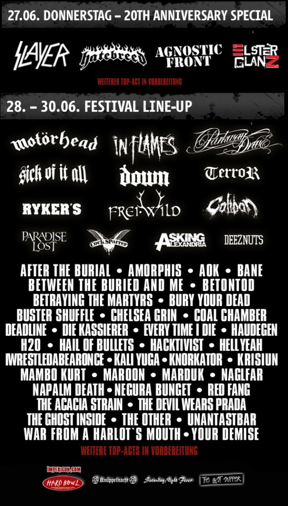 with full force 2013_lineup