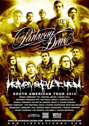 parkway drive_heaven shall burn_south america