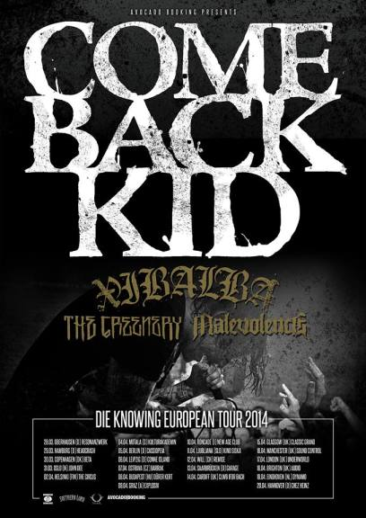 comeback kid_europe tour 2014